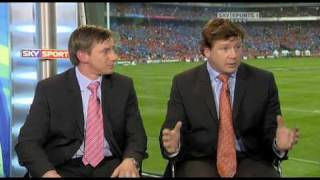 2009 heineken cup semi final munster v leinster-wtf did i just say? (watch paul wallace's face)