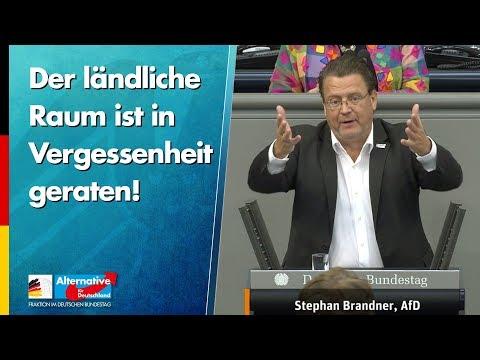 Der ländliche Raum ist in Vergessenheit geraten! - Stephan Brandner - AfD-Fraktion im Bundestag