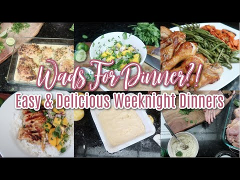 Some Succulent Suppers! New Easy & Delicious What's For Dinner Recipes For Your Family To Enjoy!