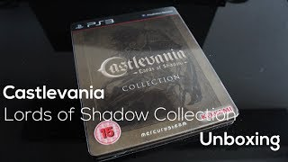 Castlevania Lords of Shadow Collection Unboxing