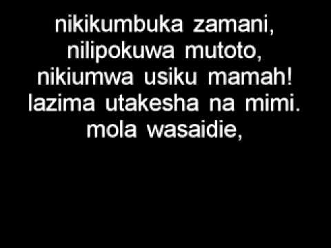 christian bella ft ommy dimpoz nani kama mama lyrics