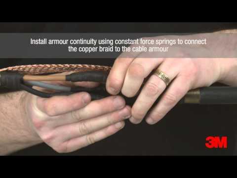 3M™ Scotchcast™ Economy Low Voltage Inline Resin Joint