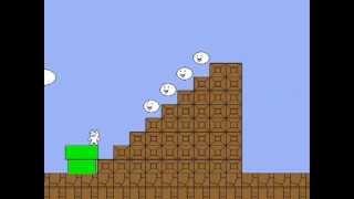 Cat Mario - прохождение игры