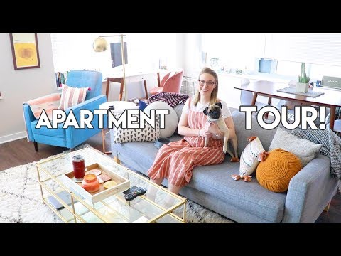 MY DOWNTOWN CHICAGO APARTMENT TOUR!!