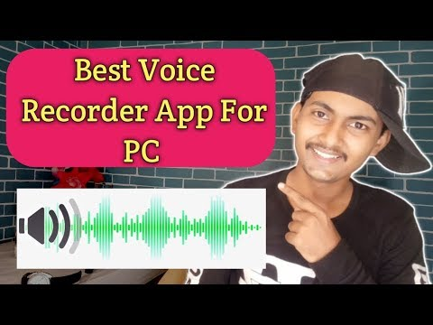 Best Voice Recorder App For PC And Laptop In 2019 | How To Record Audio On Computer
