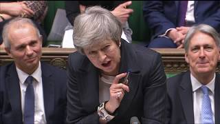 MPs continue marathon debate on PM's Brexit deal