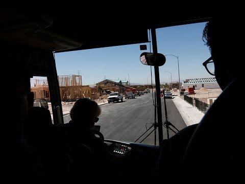 Bus tour of North Las Vegas New Neighborhoods
