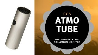 Atmotube 2.0 Portable Air Quality Monitor. Indoor/Outdoor Air Pollution Tracker