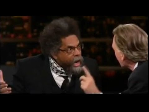BILL MAHER OWNED BY CORNEL WEST ON HBO REAL TIME: Trump Still Lesser Evil Compared To Clinton