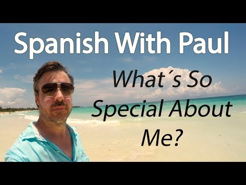 What's So Special About Me? - Spanish Reflexive Pronouns