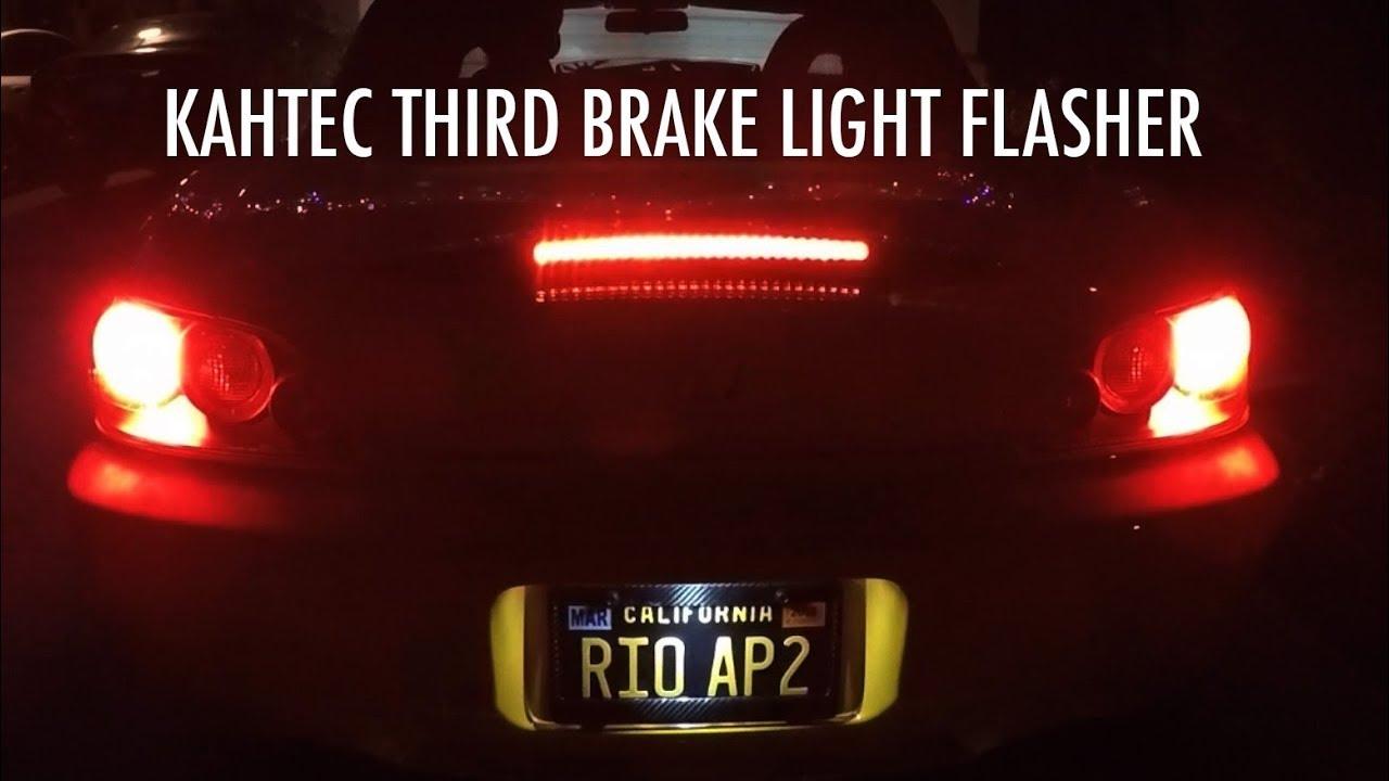 Kahtec Third Brake Light Flasher Install - Honda S2000
