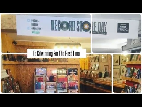 Rare Trade Records Record Store Day 2016, Kilwinning, Ayrshire
