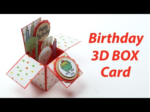 EASTER //Birthday POP UP CARDpersonalised Mum Grandma Aunt etc Mam