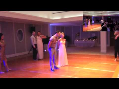 EPIC Surprise Pitch Perfect Wedding Dance