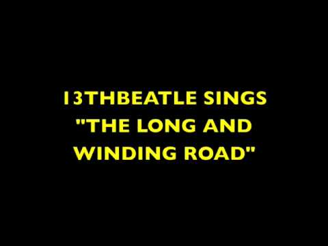 THE LONG AND WINDING ROAD-BEATLES COVER