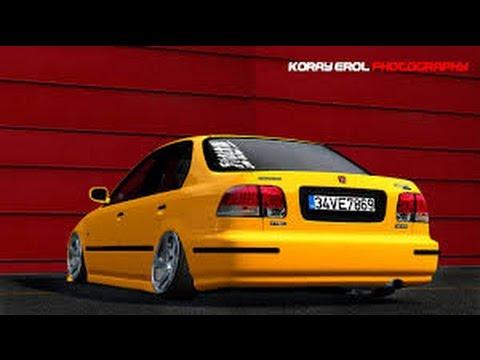 LFS Honda Civic Sarı Civciv+LİNK