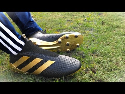 POGBA BOOM TEST! adidas laceless football boots (REPLICA)