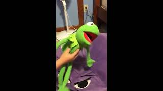 the tonight show starring dummy the dinosaur and Kermit the frog