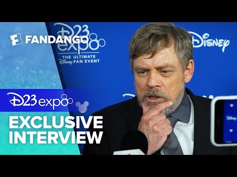 Does Mark Hamill Want a Young Luke Skywalker Movie? | D23 Expo 2017