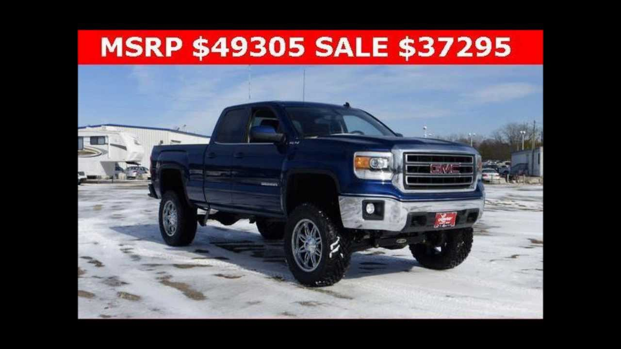 Lifted Gmc Sierra >> 2014 Lifted GMC Sierra 1500 Double Cab 4WD SLE - YouTube