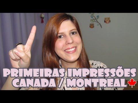 Primeiras IMPRESSÕES de MONTREAL (e comparações com Quebec) | MORAR no CANADÁ | BRASILEIROS