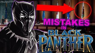 BLACK PANTHER BIGGEST MOVIE MISTAKES & ERRORS - 2018