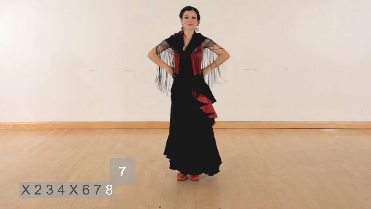 How To Perform A Simple Flamenco Dance Sequence Youtube