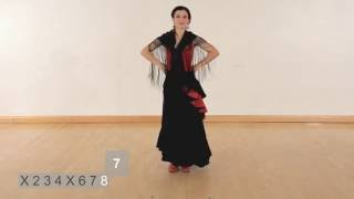 How to perform a simple Flamenco dance sequence