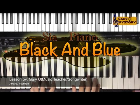 Black And Blue Piano Chords Sia Khmer Chords