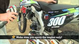 MXTV How to wash your bike