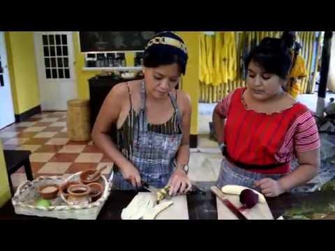 Ixiim Cooking School in San Pedro La Laguna, Guatemala