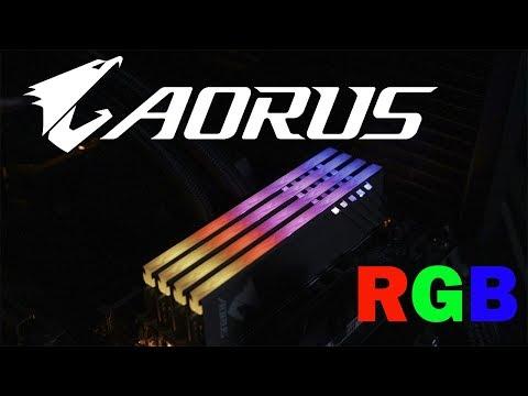 Aorus DDR4 3200 MHz CL16 RGB - Niby 4 a jednak 2.