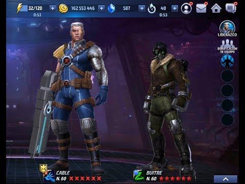 Marvel Future Fight DIRECTO Subiendo a Cable MAXIMO PODER + Buitre Tier 2 VULTURE
