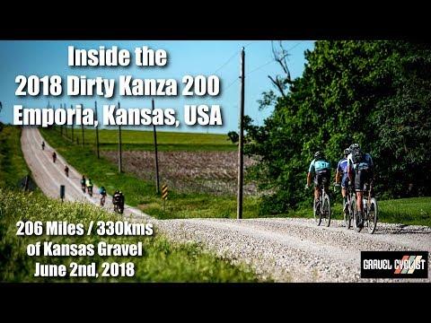 Inside the 2018 Dirty Kanza 200 Gravel Race inc. Jens Voigt & Sven Nys! - Emporia, Kansas, USA
