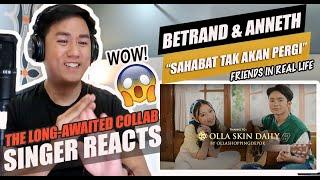 Download BETRAND PETO PUTRA ONSU & ANNETH DELLIECIA - SAHABAT TAK AKAN PERGI | SINGER REACTION