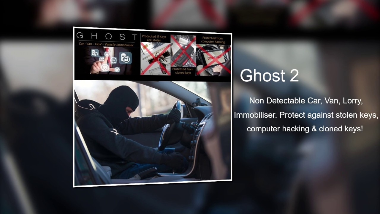 GHOST2 - The Non Detectable Car Immobiliser