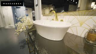 Макслевел –сантехника и мебель для ванных комнат премиум-класса