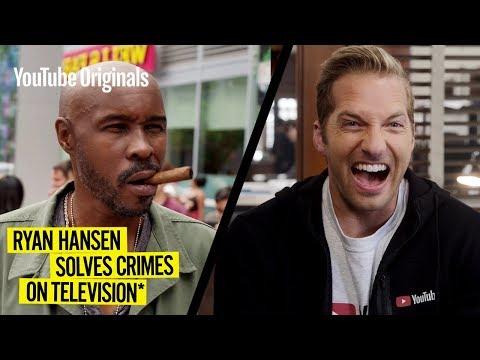 Ryan Hansen Is Still Making Fun of YouTube in Season 2 Trailer for 'Ryan Hansen Solves Crimes on Television' (Video)