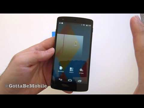 Android 4.4 KitKat Hands-on: New Features