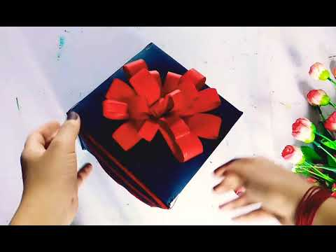 Explosion box || Rakshabandhan greeting box for brother||