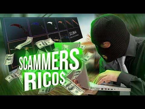 TROLLANDO OS DOIS SCAMMERS MAIS RICOS DO CS:GO