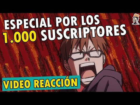 ESPECIAL POR LOS 1.000 FUJOSHIS Y FUDANSHIS | Video Reaccion