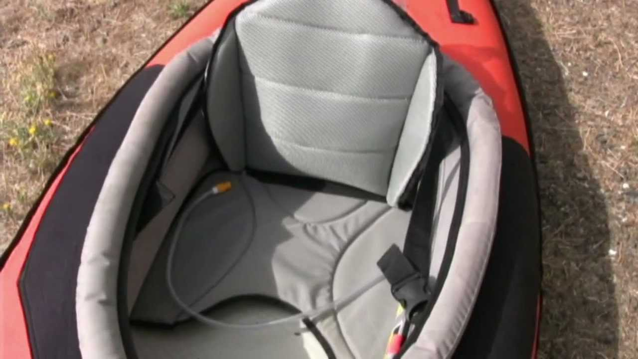 See Video! New Advanced Elements High-Back Kayak Lumbar Seat AE2013HB