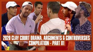 Tennis Clay Court Drama 2020 | Part 01 | You're So Mean! Stop Making them Clean the Court!