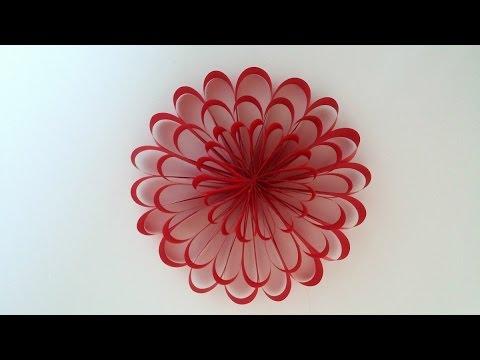 Paper Flower Diy Party Flowers Decor Home Decor Kids Project