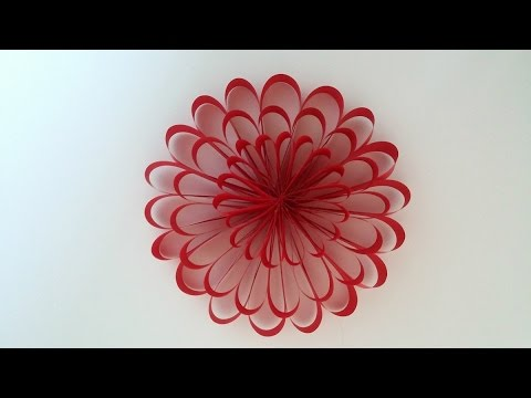 paper flower diy party flowers decor home decor kids project - Flowers For Home Decor