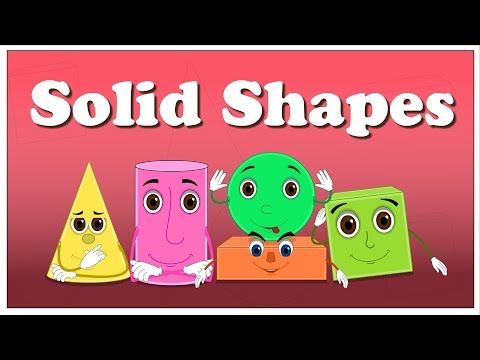 Solid Shapes for Kids  #aumsum #kids #shapes #shapesforkids #solid