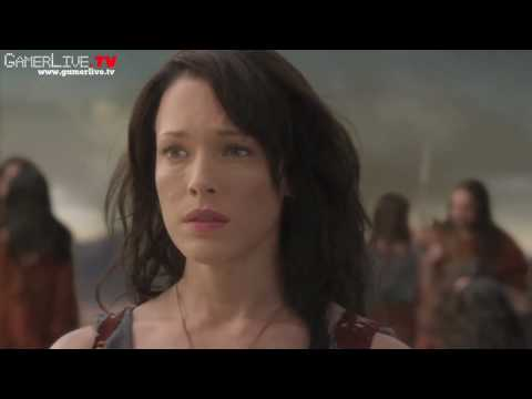 Erin Cummings Spartacus: Blood and Sand Exclusive   Part 1