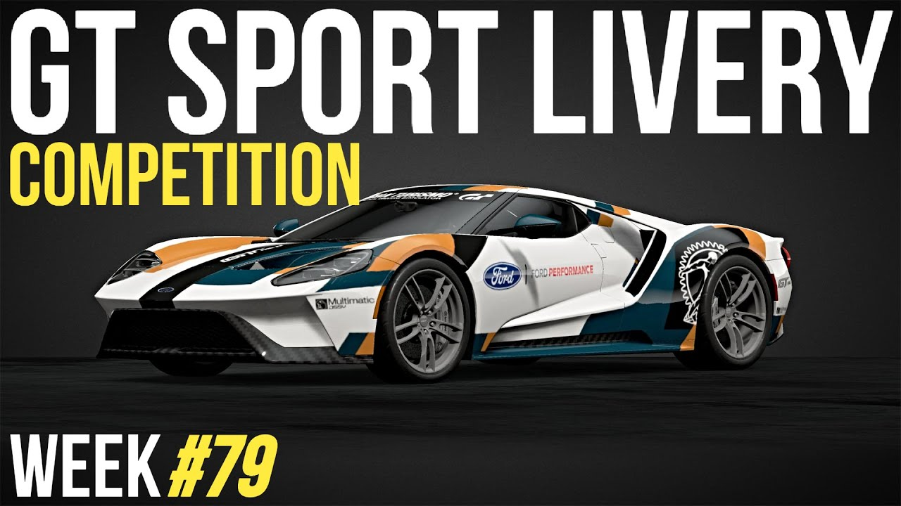 GT SPORT LIVERY Competition - Week #79