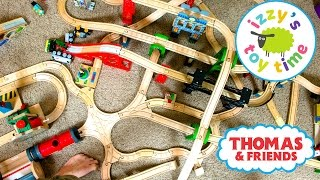 Thomas and Friends | Thomas Train Multi Level Track with Brio and Imaginarium | Toy Trains for Kids
